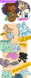 Pokemon Super Mystery Dungeon Doodles by smilesthenregrets