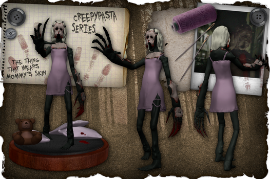 Creepypasta Series 11: The Mother by dimelotu