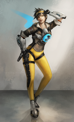 Overwatch -Tracer by OOQuant