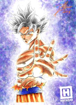 Ultra Instinct Goku by DHK88