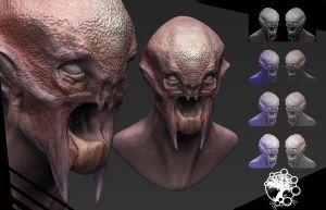 Zbrush practise by Fenrir--the-2nd