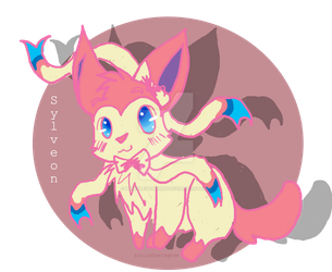 Sylveon by brindlesongart