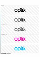 optik logo by mD-06