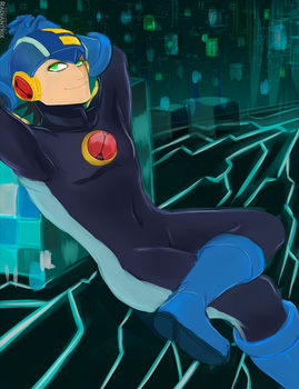 Rockman EXE ll Welcome to cyberspace by Radiantrix