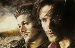 Dean and Sam (J.Ackles, J. Padalecki) #6 by jacsch71