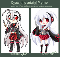Draw This Again Meme - Tei by Kayozia