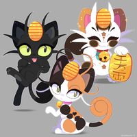 Pokemon: Meowth Variations