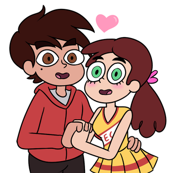 More Marco and Sabrina by fallenjrblue