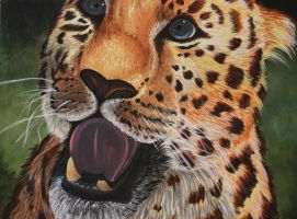 Painting: Amur Leopard by ShineOverShadow
