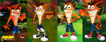 Crash bandicoot Evolution by VenomDesenhos
