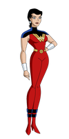 Wonder Woman - Justice Lords by SpiedyFan