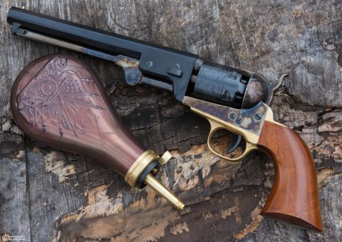 The 1851 Colt Navy - Replica by spaxspore