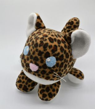 Chibi Cub Roll Cheetah Plush by Gemlettuce