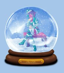 Animated Snow Globe: Akidah by Coraleana