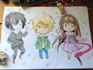 Noragami Chibis!! by TheSassyFox