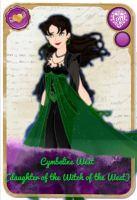 Ever After High Oc Card - Cymbeline West by KariaHearts56789