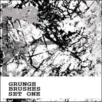 Grunge Brushes Set One by nighty-stock