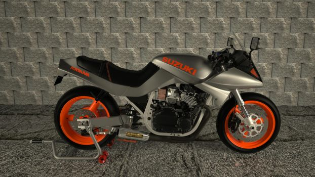 1985 Suzuki Katana750, revisit WIP by MarcelloRupelli