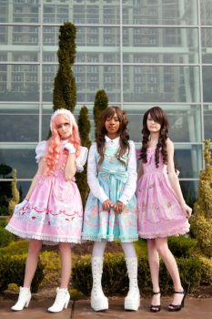 Three Lolita by Wataru12012