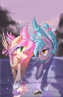 Sweet Skies + Sonar by kawaiipony2