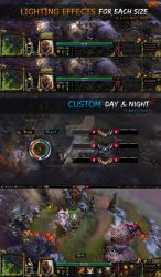 HUD Antiquity for Dota 2 by wolfartred