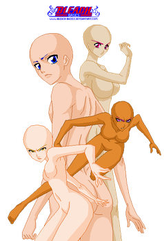 girl group 1 by Bleach-bases