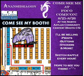 Fort Collins Comicon by AnansiDragon