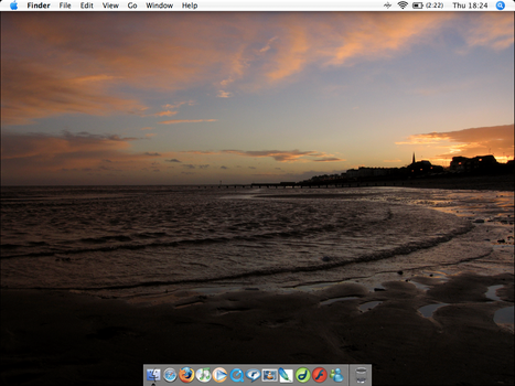 Sunset Beach OS X by placey