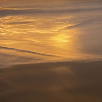 golden sunset seascape by letsgofishing3