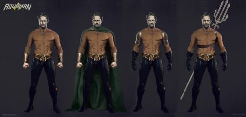 AQUAMAN Concept Art by NigelHalsey