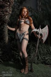 Red Sonja by Jacqueline Goehner 2018 by wbmstr