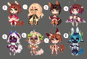 Adopts batch 012 - Auction [CLOSED] by Nelliette