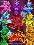 Rainbow Warriors Issue One Cover by LavenderRanger