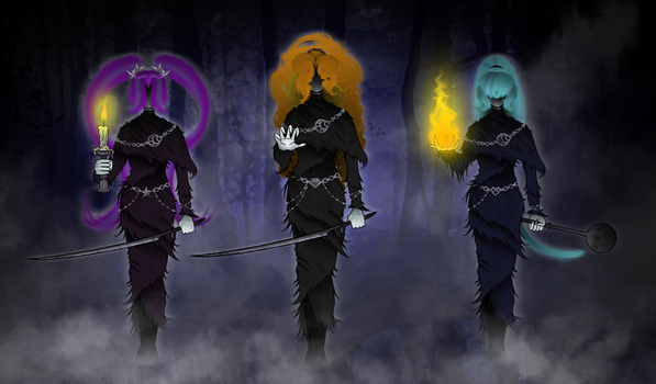 Sirens of Yharnam by Crydius
