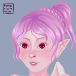 pink freckles... by nanarini