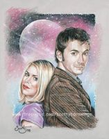 The Doctor and Rose by scotty309