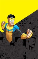 INVINCIBLE compendium cover by RyanOttley
