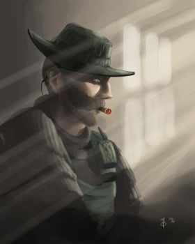 CoD4: Captain Price by CreativeImages