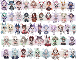 ADOPTS: 49 Mixed Batch [2/49 OPEN] by Mewpyonadopts