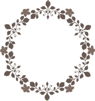 Floral circle gif by PixiPickel