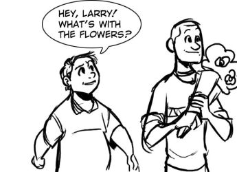 VT: Forgetful Larry by crumblygumbly