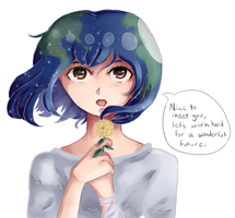 Earth Chan by SallyTrivone