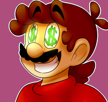 Money Money money by BaconBloodFire