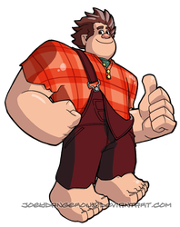 Wreck it Ralph by JoeOiii