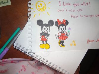 mickey and minnie by 17cherry