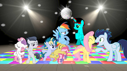 MLP Couples Dance Party by JawsandGumballFan24