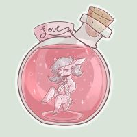 .: love potion :. by cossmiicdolphin