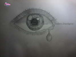 Crying Eye by SelimDesigns