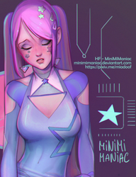 Daphne cyber girl (preview) by Minimimaniac
