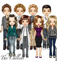 The Cullens by crayonsfordinner